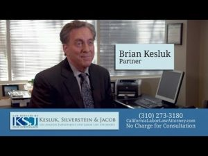 Cover Photo of LA Sexual Harassment Attorney Brian S. Kesluk