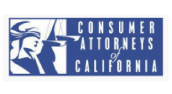 Logo of the Cosumer Attorneys of California