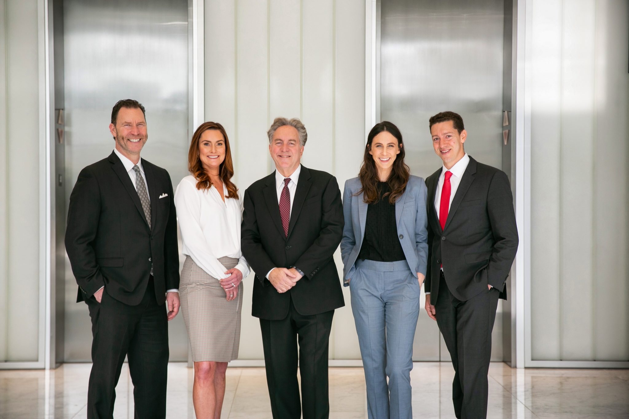 Group Photo of the Workplace Rights Attorneys at Kesluk, Silverstein, Jacob & Morrison, P.C.